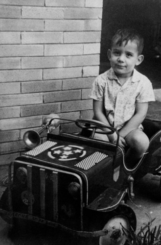 Young Ayrton Senna