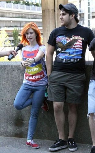 Zac and Hayley<3