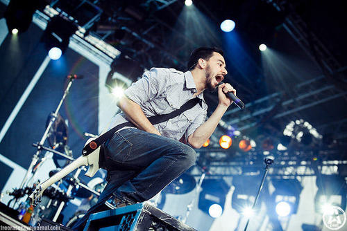 Linkin Park fond d'écran called lp live