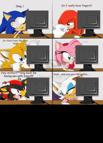 shadow did what 2 sonic
