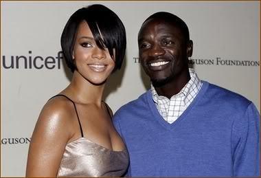 * Akon & Rihanna *