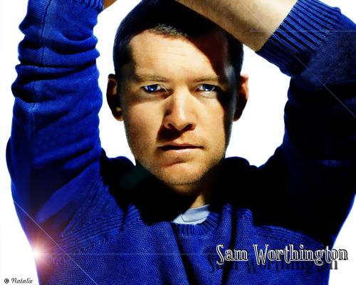 Sam Worthington wallpaper titled <Sam>