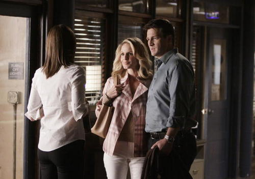 Kate Beckett karatasi la kupamba ukuta called 2x24 A Deadly Game - Promo Pictures