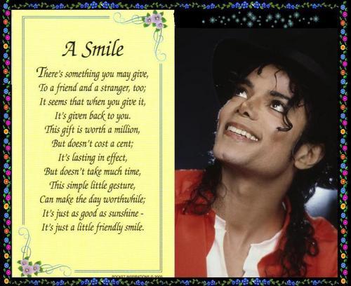 A SMILE....