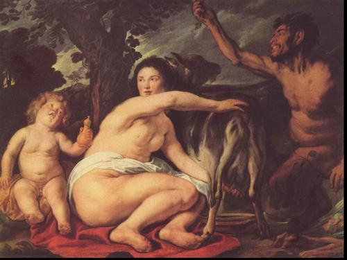 thần thoại Hy lạp hình nền entitled Almathea