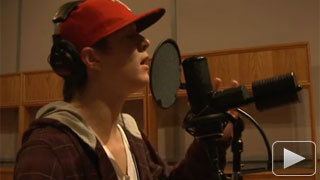Alex in Recording Studio