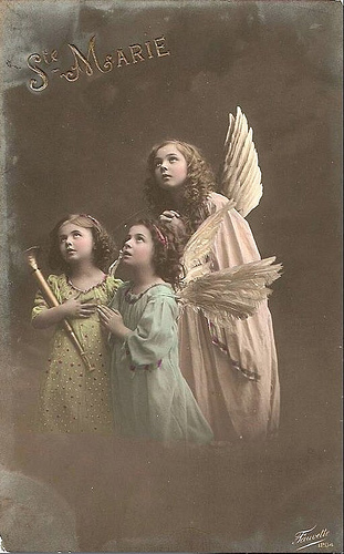Vintage anjos
