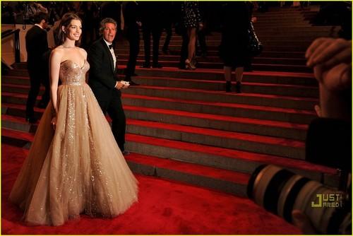Anne Hathaway: MET Ball 2010