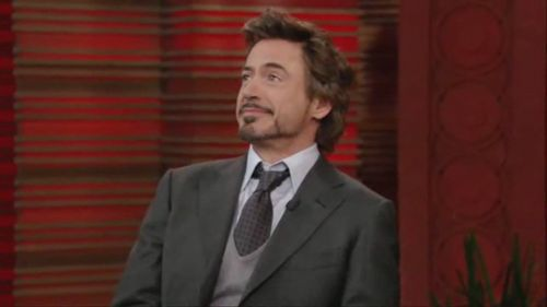 April 30, 2010: Live With Regis & Kelly - robert-downey-jr Photo