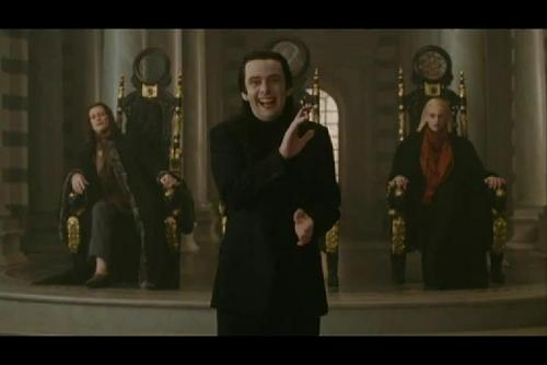 Aro's laugh scene