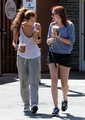 At Coffee Bean with Brandi (May 3rd,2010)