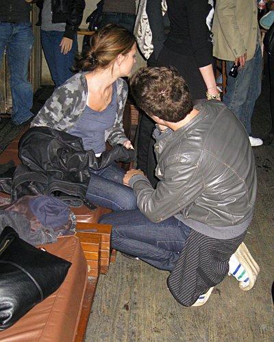 At Pianos Bar and Nightclub (October 8, 2008)