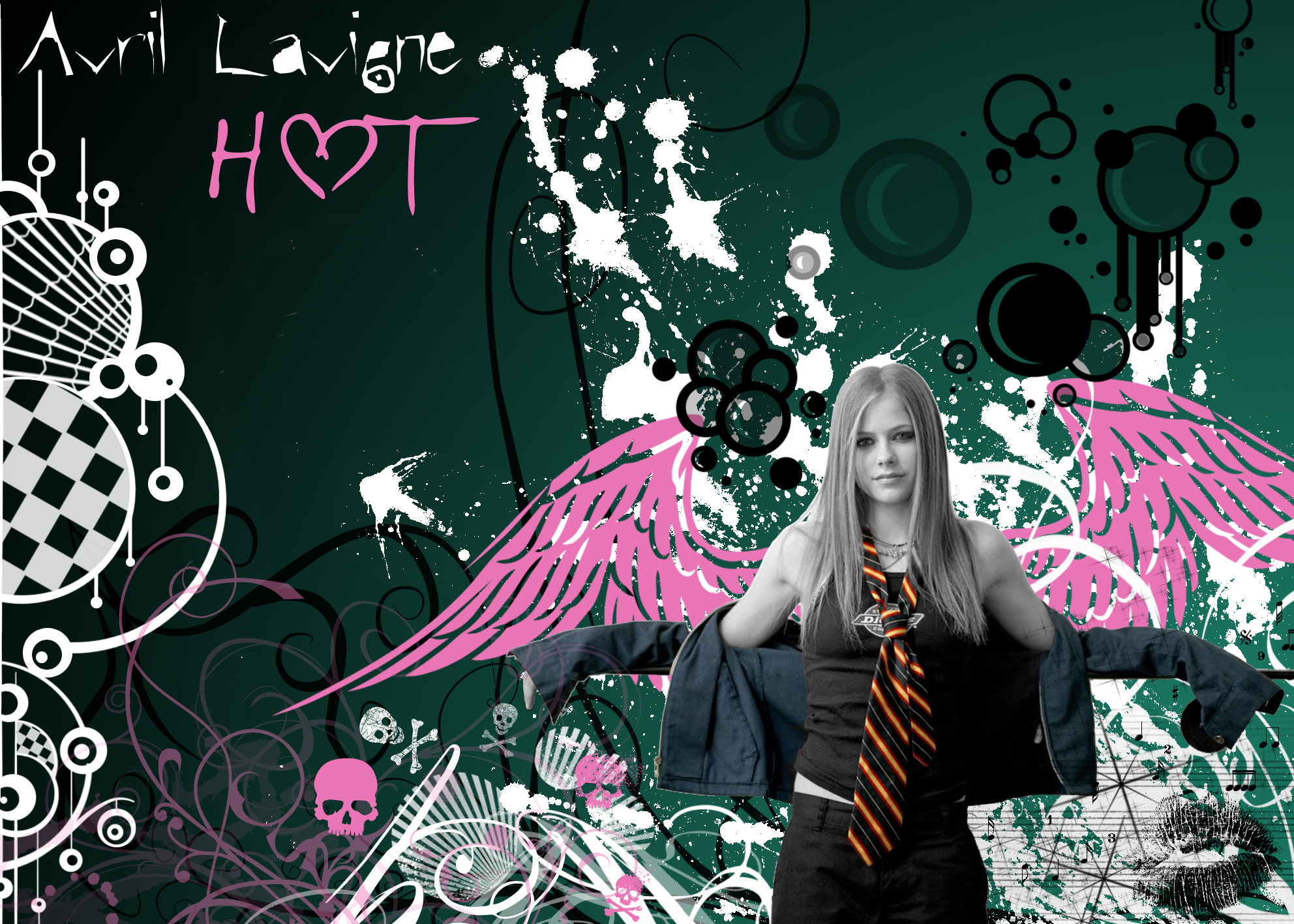 Avril Lavigne HOT Wallpaper Avril Lavigne Foto