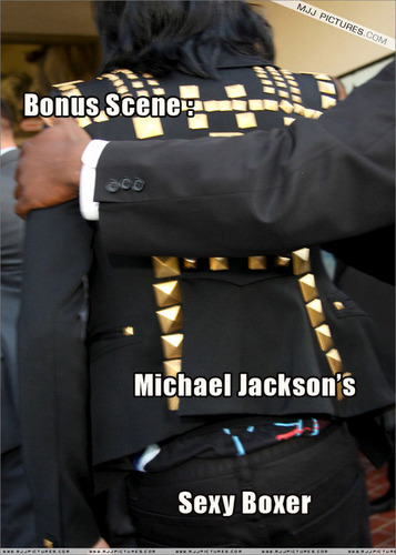 BONUS: MJ'S SEXY BOXER!!!
