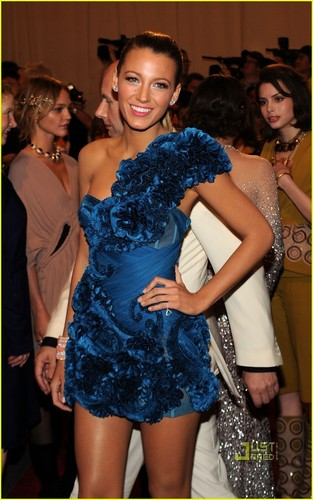 Blake Lively - 2010 Met Costume Institute Gala