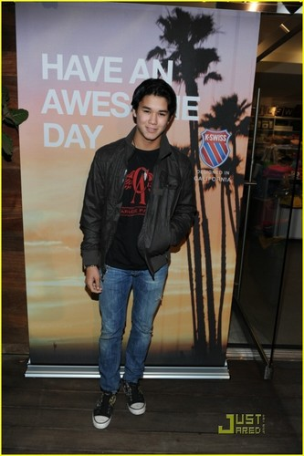 Booboo Stewart is K-Swiss Cool