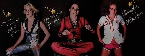 Cherie, Joan & Lita Autographs