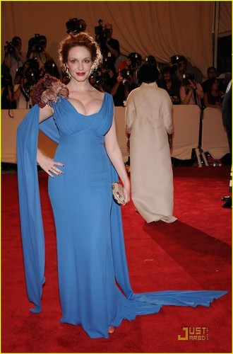 Christina Hendricks: MET Ball 2010