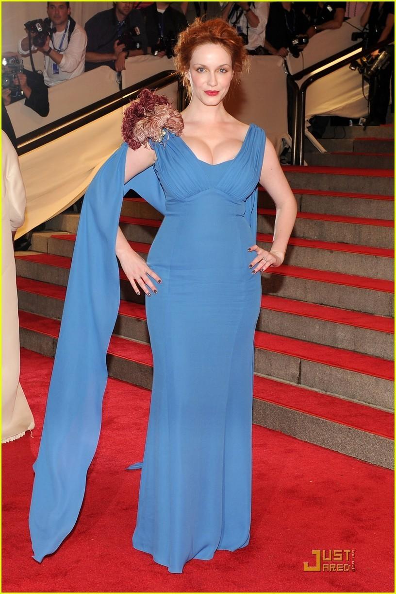 Christina Hendricks: MET Ball 2010