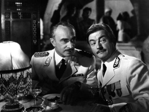 Claude Rains and Conrad Veidt