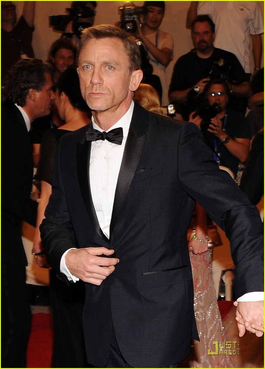Daniel Craig: MET Ball 2010 With Satsuki Mitchell