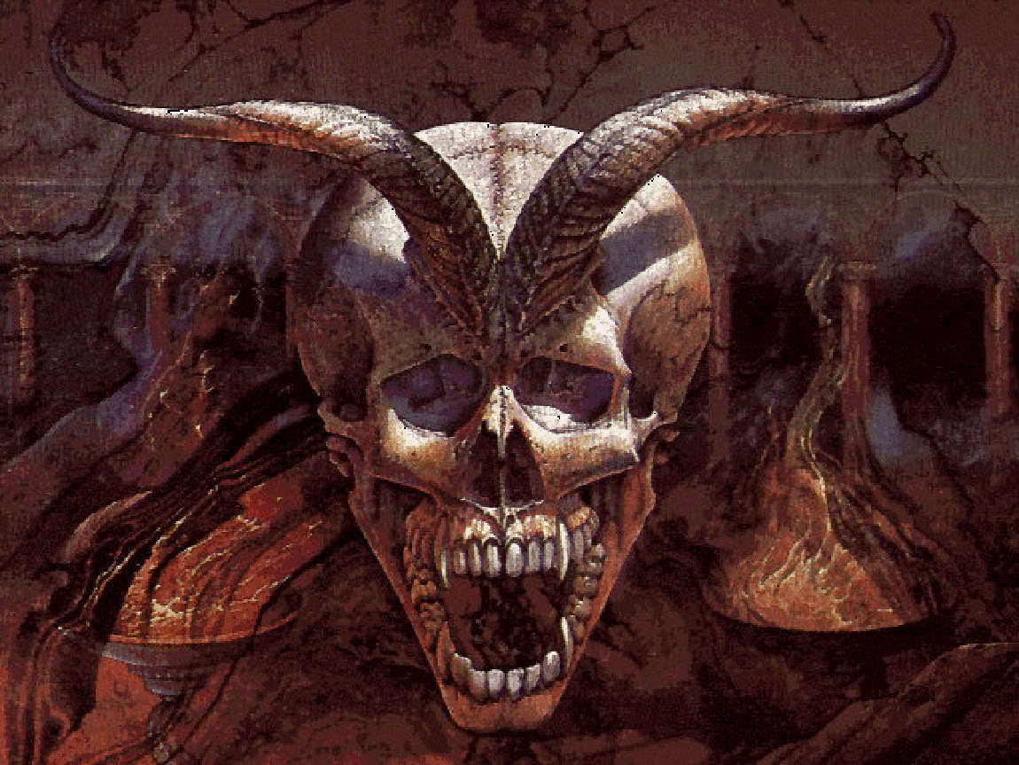 Demonic Skull Pics http://www.fanpop.com/clubs/demon-morality/images/11990571/title/demon-skull-photo