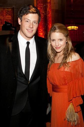 Dianna/Cory - American Australian Association Benefit 공식 만찬, 저녁 식사