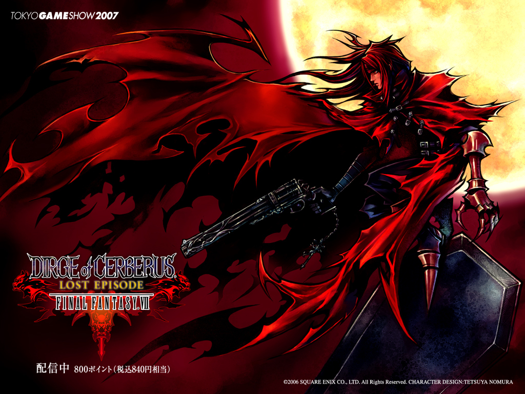 vincent valentine game ps2