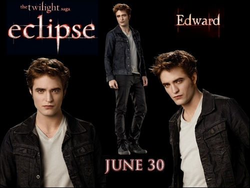 Eclipse wallpaper entitled Eclipse - Edward
