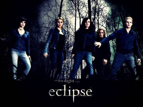 Eclipse-The Cullens  - twilight-series Wallpaper
