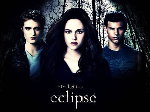 Eclipse tri - Edward, Bella and Jacob