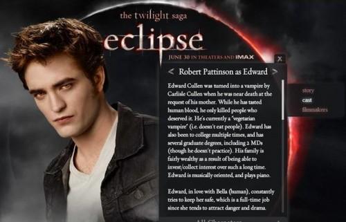 Edward Eclipse Promo Pic