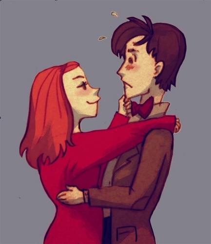 Eleven&Amy Фан art