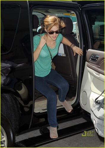 Emma Watson: Heading Home After MET Ball
