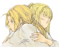 Friends for Always - edward-elric-and-winry-rockbell fan art
