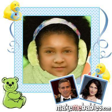 George Clooney/Cuddy baby