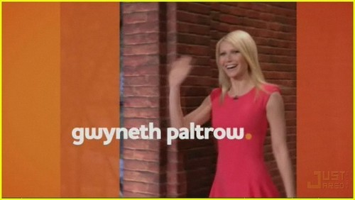 Gwyneth Paltrow is The Marriage Ref!