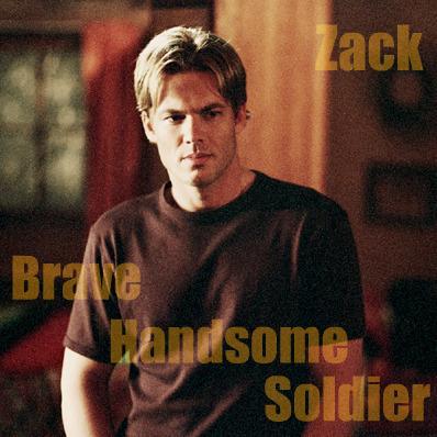 Handsome soldier