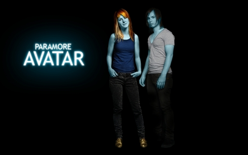 Hayley and Josh as avatars