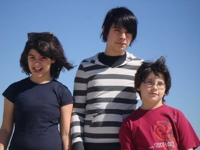 Hayley's step siblings