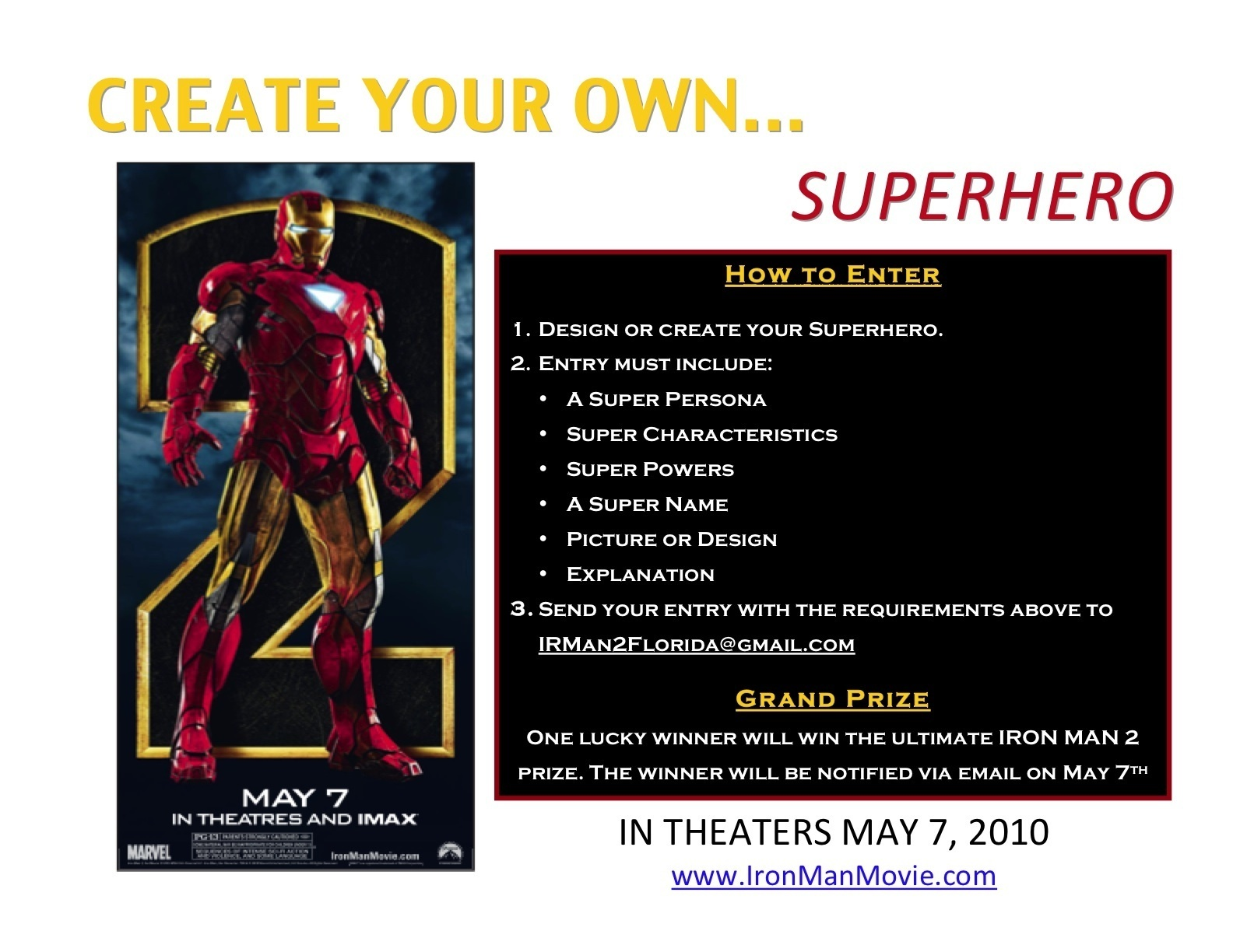 Ultimate Marvel Images IRON MAN 2 SUPERHERO CONTEST HD Wallpaper And