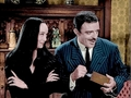 John Astin and Carolyn Jones