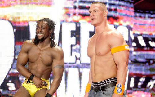 John Cena and Kofi Kingston