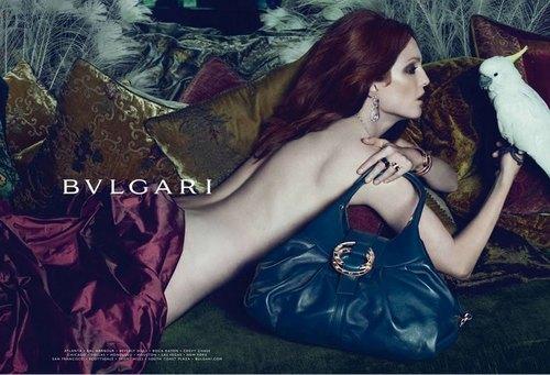 Julianne Moore wallpaper titled Julianne Moore for Bulgari