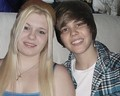 Justin and his girlfriend