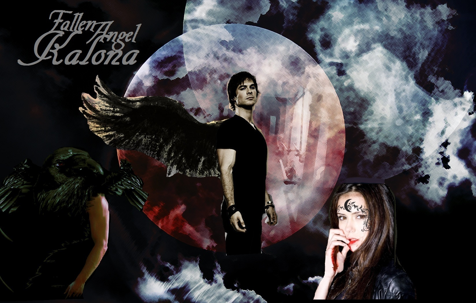 Kalona fallen angel house of night series photo for Housse of night