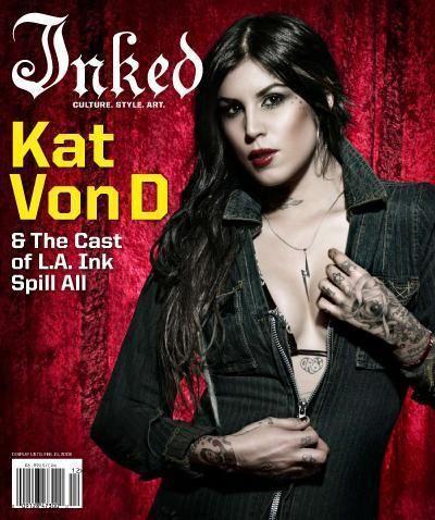 Inked Magazine: Kat Von D