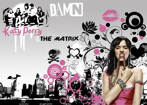 Katy Perry DAMN karatasi la kupamba ukuta
