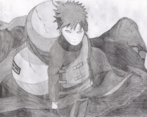 Gaara of Suna wallpaper titled Kazekage Gaara fanart