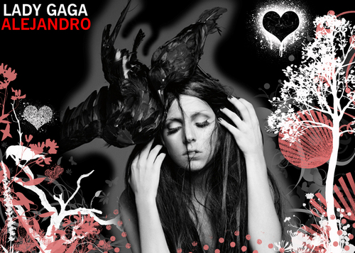 Lady GaGa ALEJANDRO wallpaper